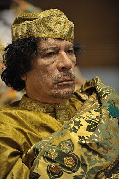 Muammar Gaddafi is a Jew, according to his Israeli relatives.