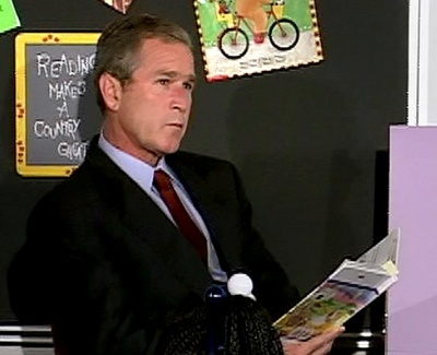president bush 9 11. President George W. Bush
