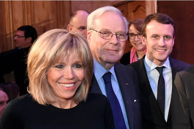 emmanuel macron girlfriend