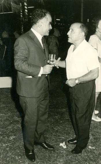 30f5b9c49572 Shamir and Isser Harel at Shamir s wedding in 1944.