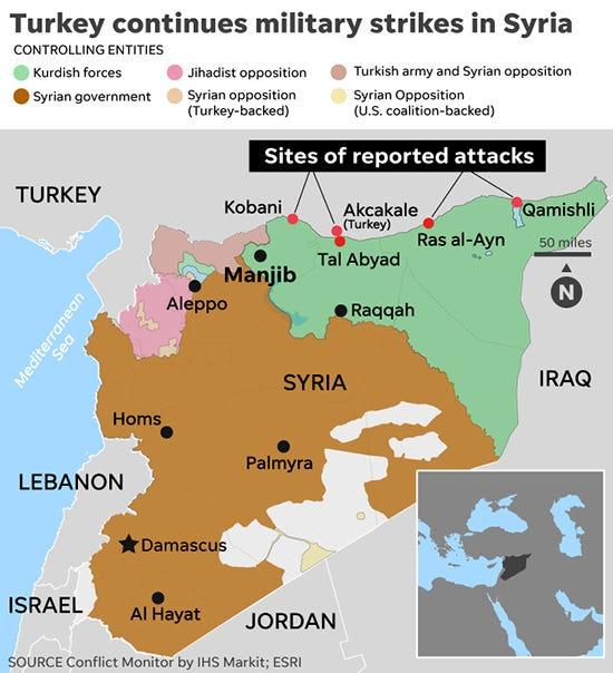 why is turkey in syria